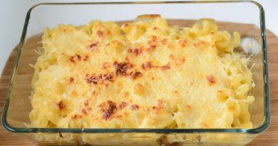 макароны с сыром рецепт в духовке