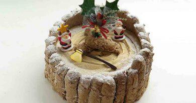 Рождественский торт Шарлотта