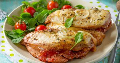 куриная грудка фаршированная помидорами и сыром