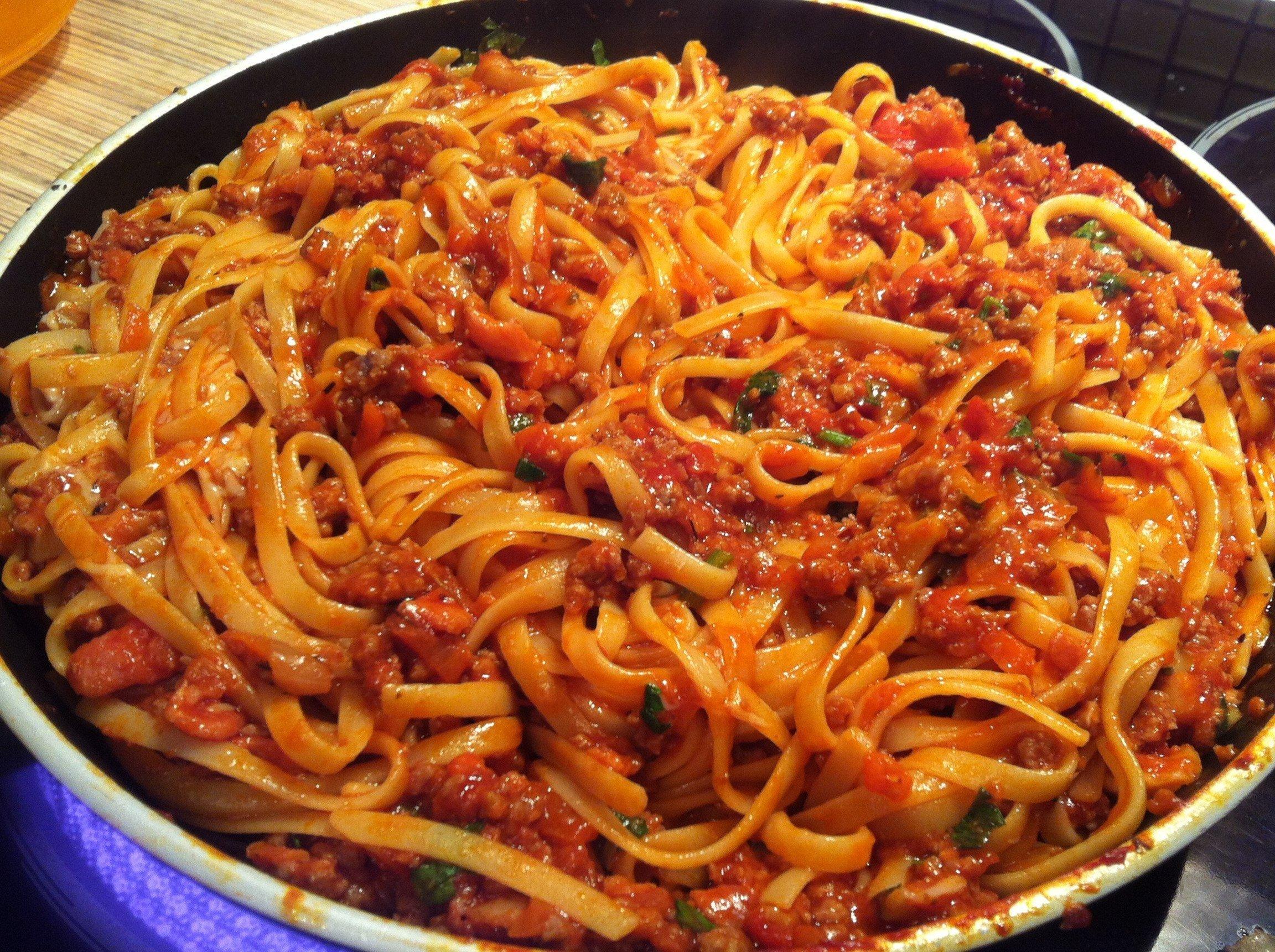 паста болоньезе рецепт в домашних условиях с фото