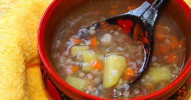суп из гречки с тушенкой рецепт