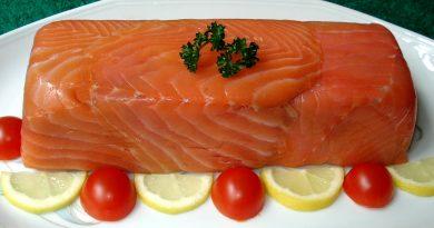 торт из красной рыбы рецепт