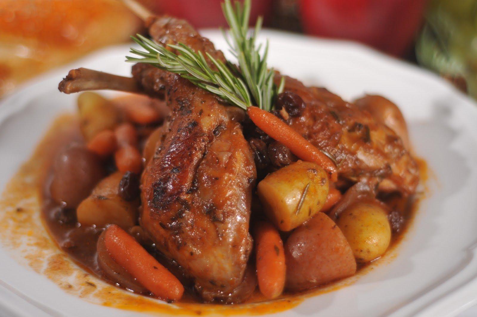 блюда из мяса кролика рецепты с фото самое курортное