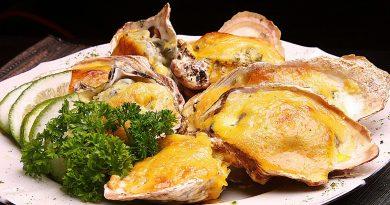 устрицы запеченные в раковинах с сыром рецепт