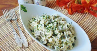 салат с говядиной и солеными огурцами рецепт