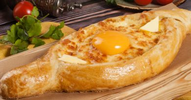 хачапури по-аджарски рецепт с фото лодочка с яйцом